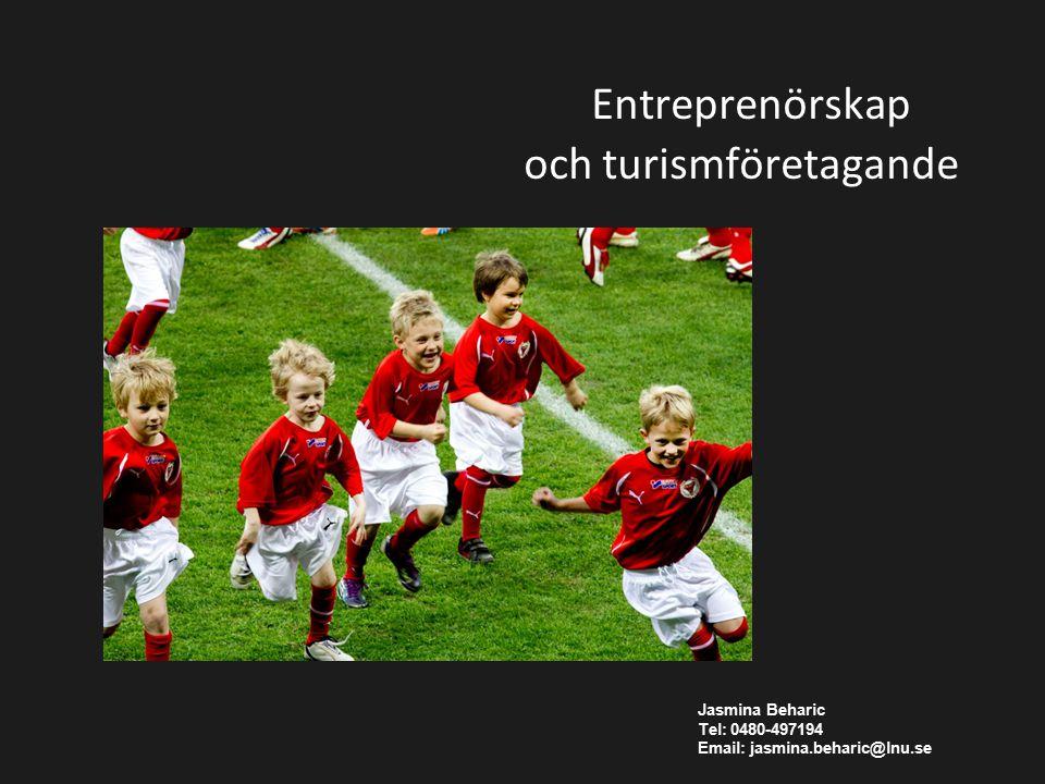 Entreprenörskap och turismföretagande