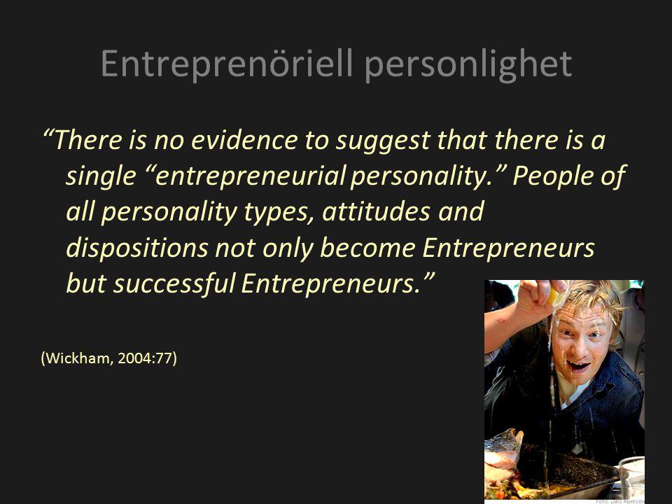 Entreprenöriell personlighet