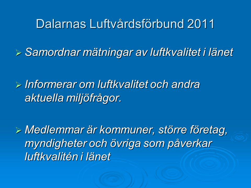Dalarnas Luftvårdsförbund 2011