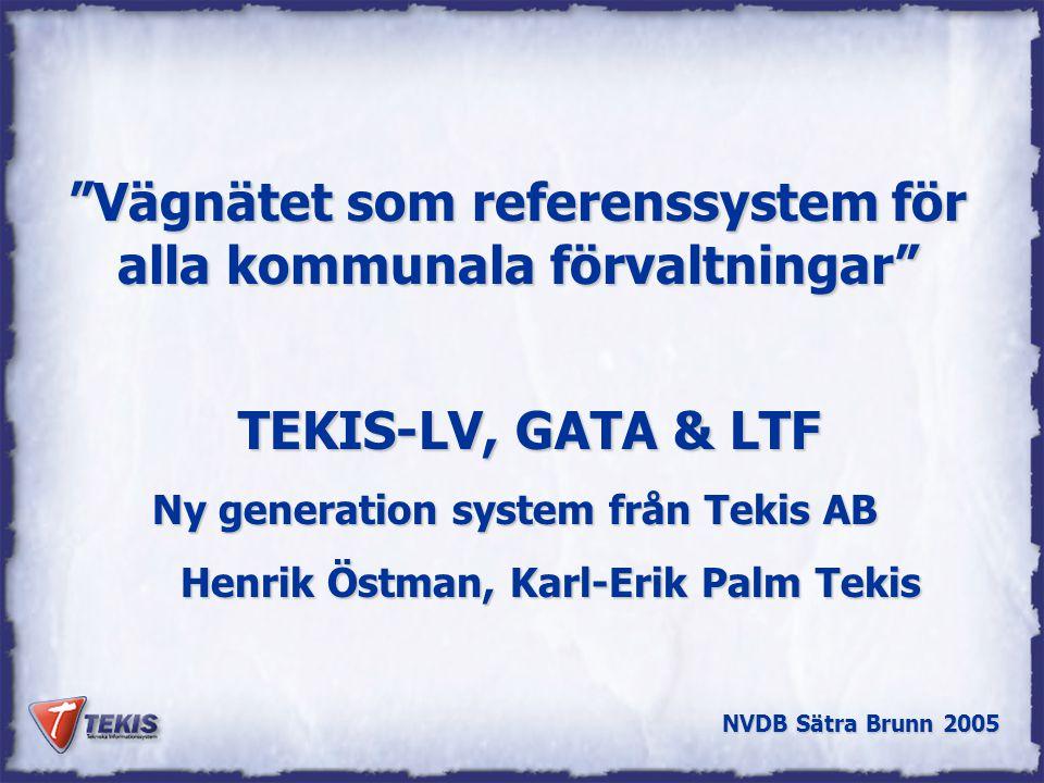 Vägnätet som referenssystem för alla kommunala förvaltningar