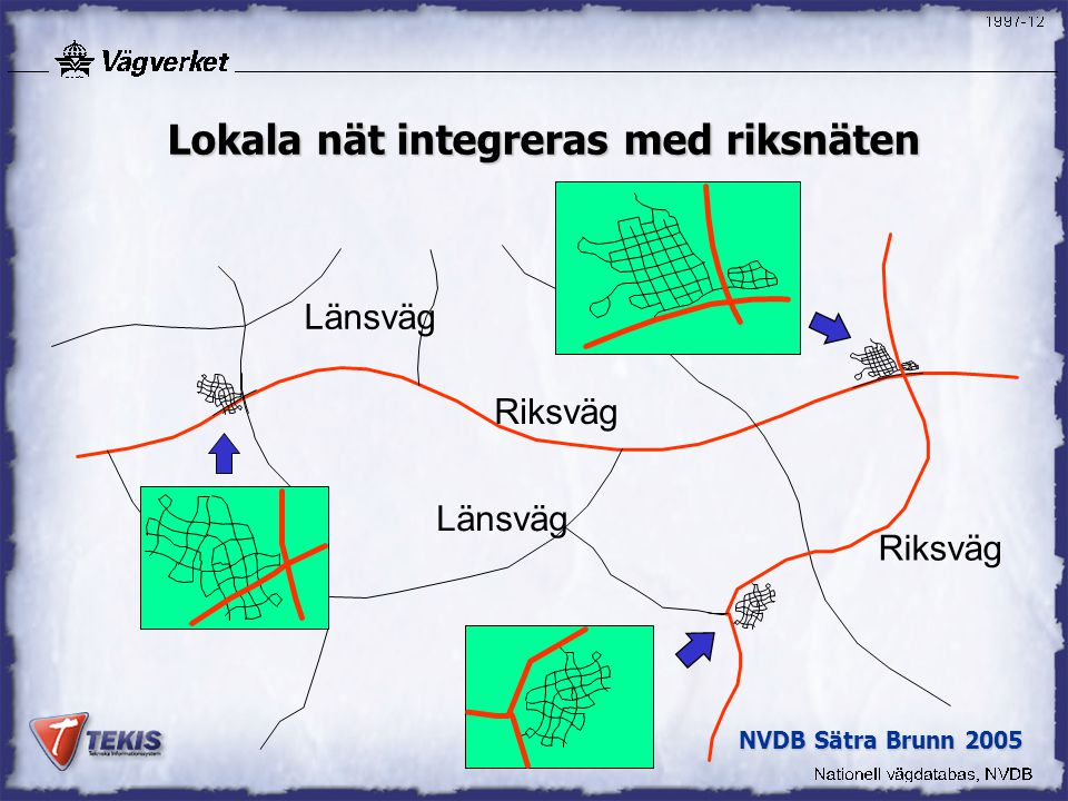 Lokala nät integreras med riksnäten