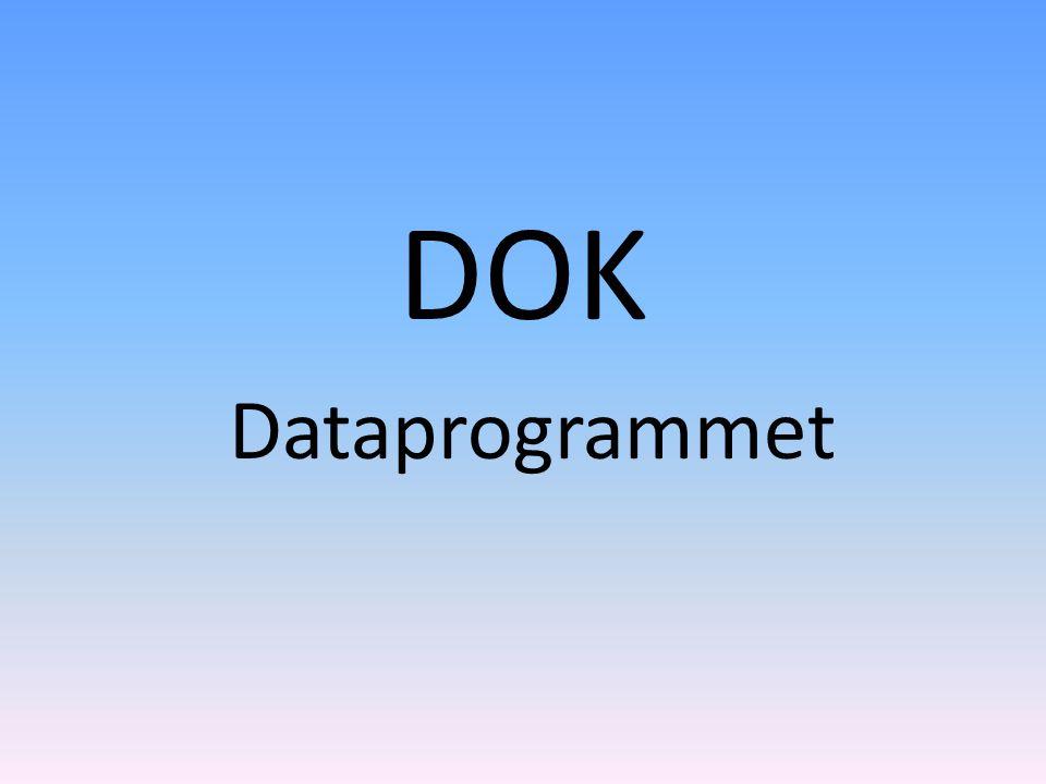 DOK Dataprogrammet