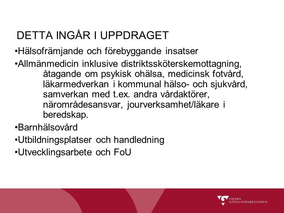 DETTA INGÅR I UPPDRAGET