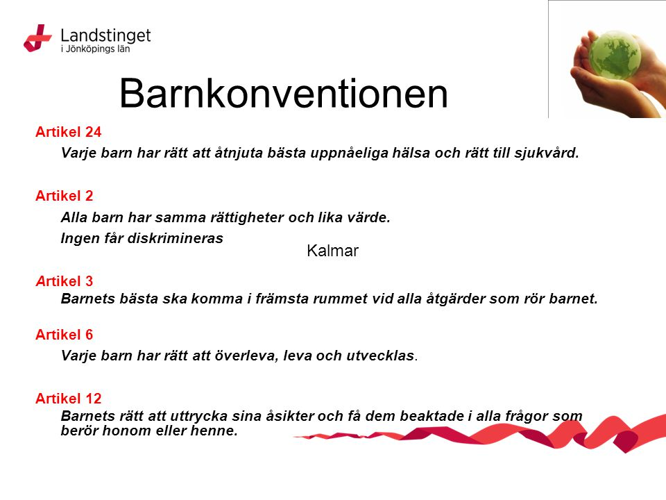 Barnkonventionen Kalmar