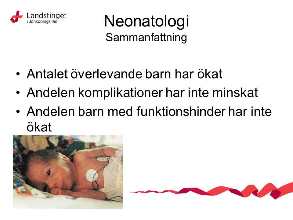Neonatologi Sammanfattning