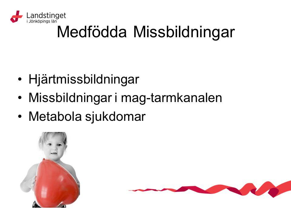 Medfödda Missbildningar