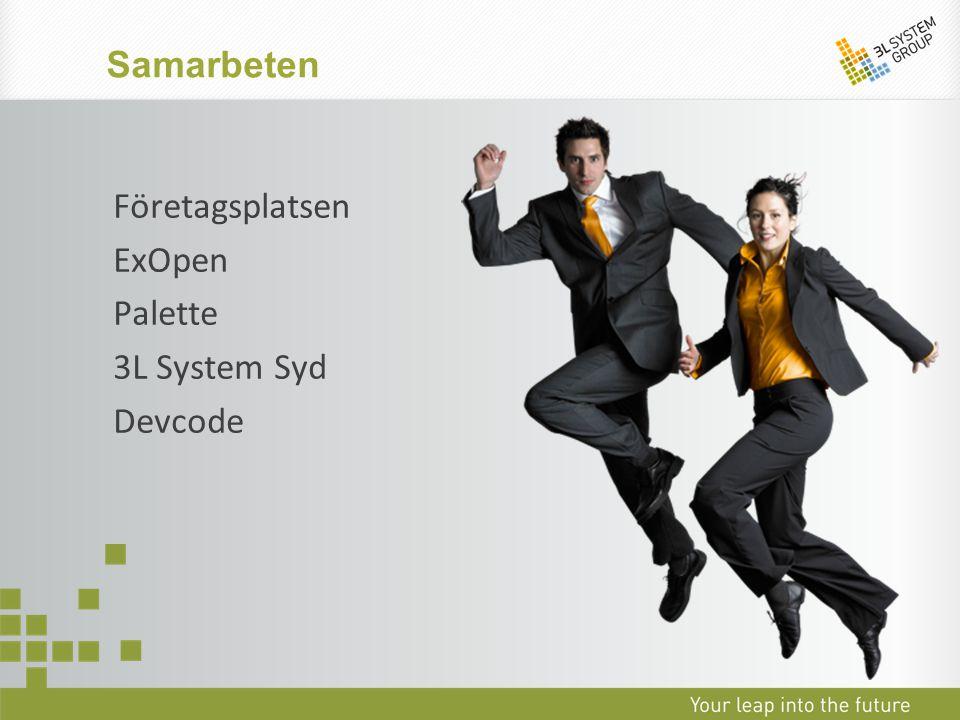 Samarbeten Företagsplatsen ExOpen Palette 3L System Syd Devcode