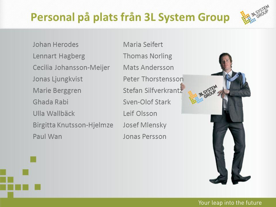 Personal på plats från 3L System Group