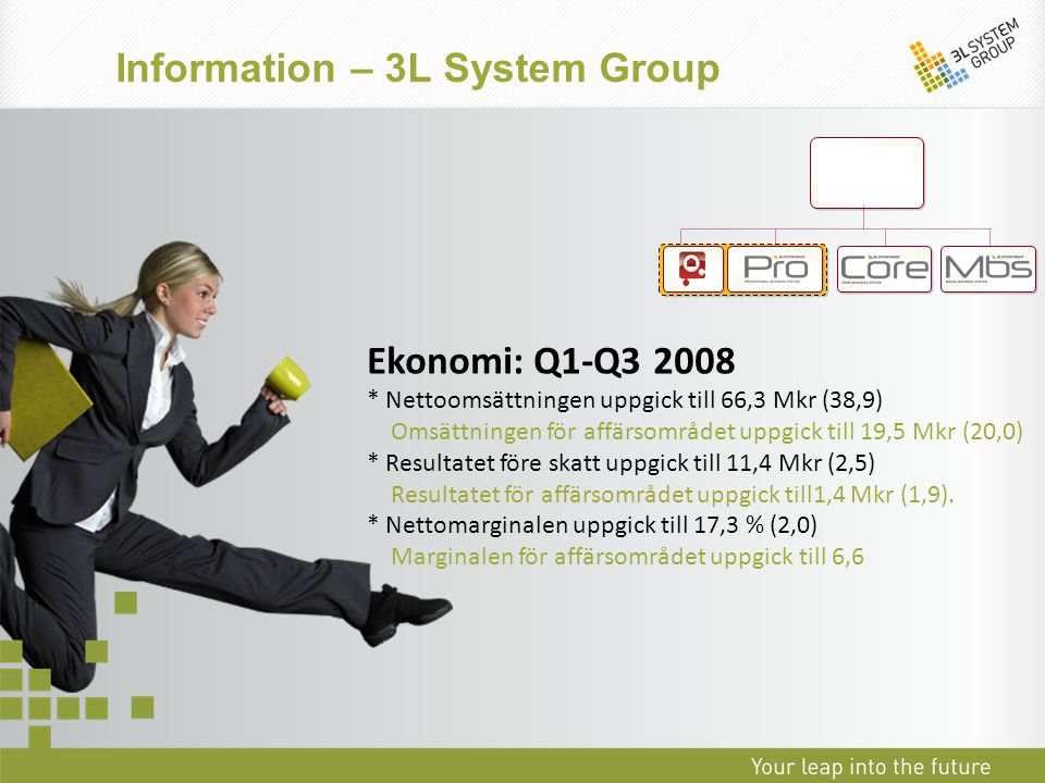 Information system group his