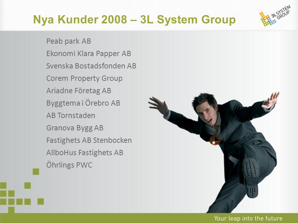 Nya Kunder 2008 – 3L System Group