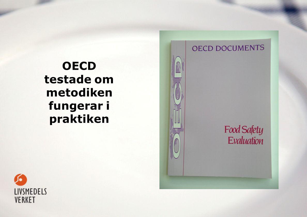 OECD testade om metodiken fungerar i praktiken