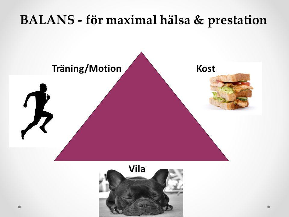 BALANS - för maximal hälsa & prestation