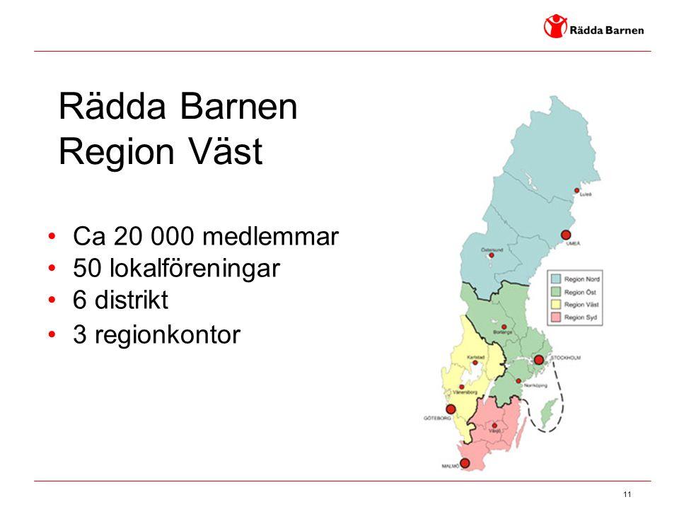 Rädda Barnen Region Väst