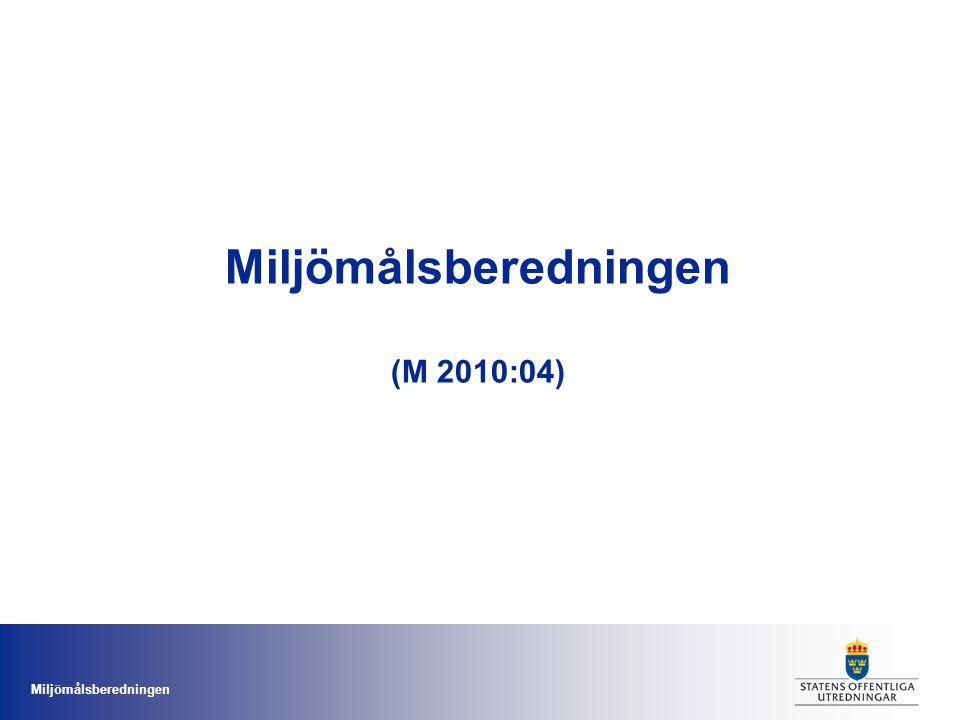 Miljömålsberedningen (M 2010:04)