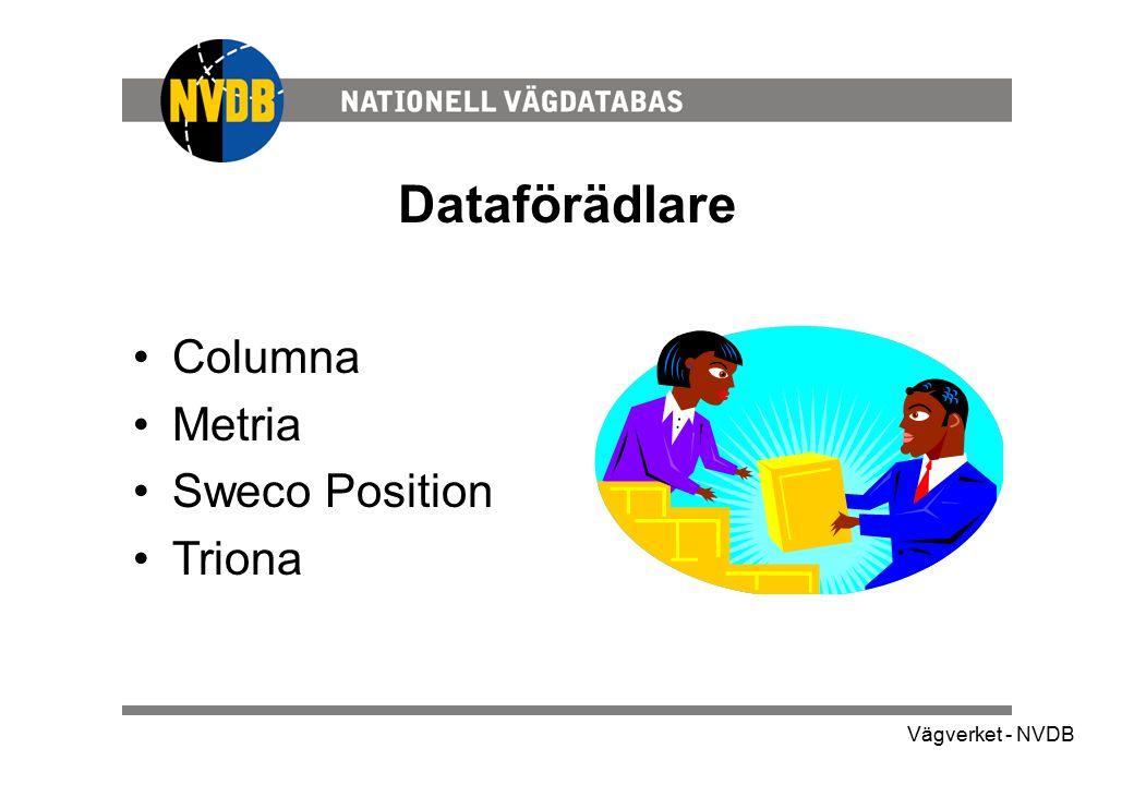 Dataförädlare Columna Metria Sweco Position Triona