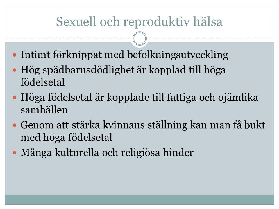 Sexuell och reproduktiv hälsa