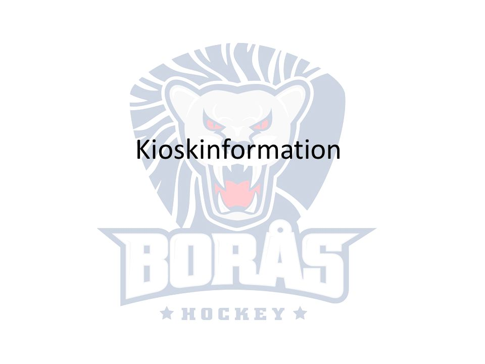 Kioskinformation