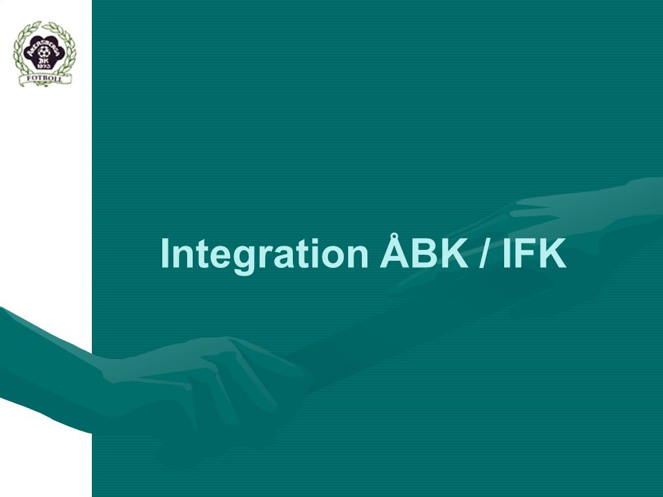 Integration ÅBK / IFK