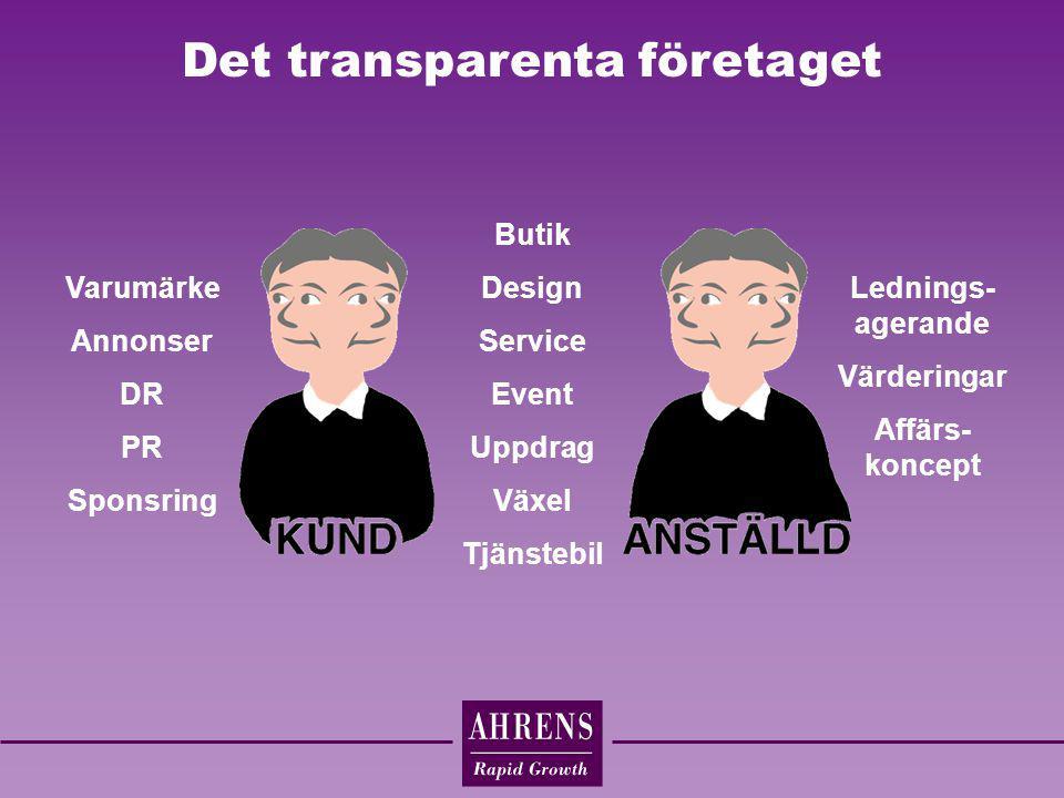 Det transparenta företaget