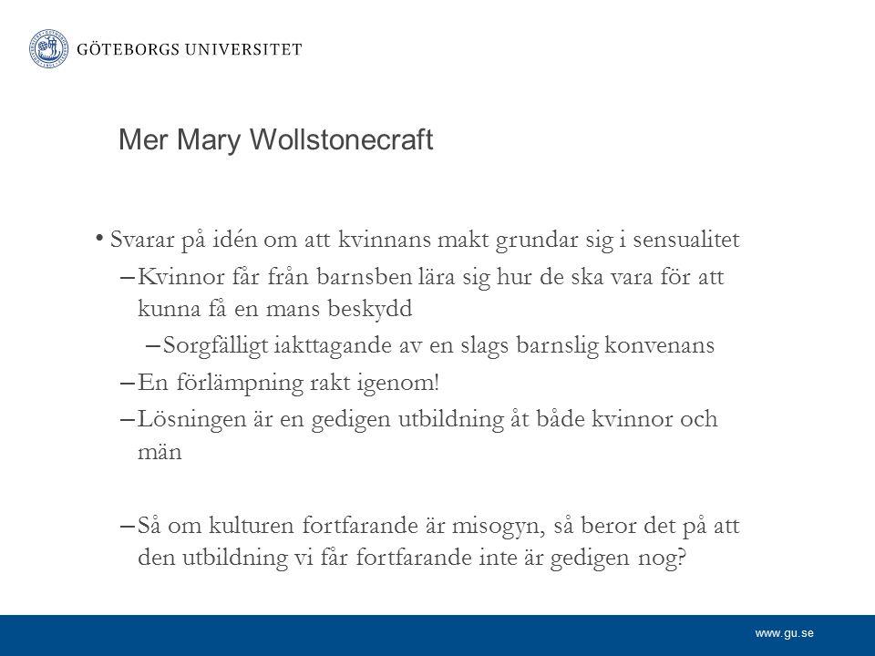 Mer Mary Wollstonecraft