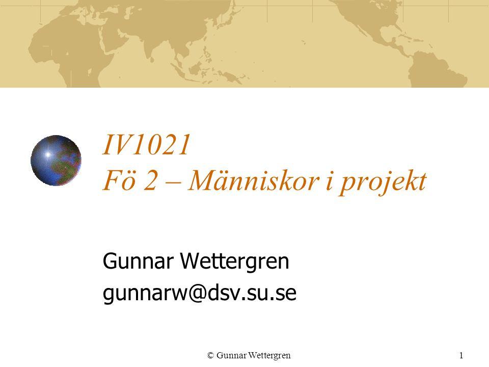 IV1021 Fö 2 – Människor i projekt