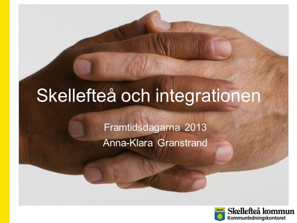 Skellefteå och integrationen