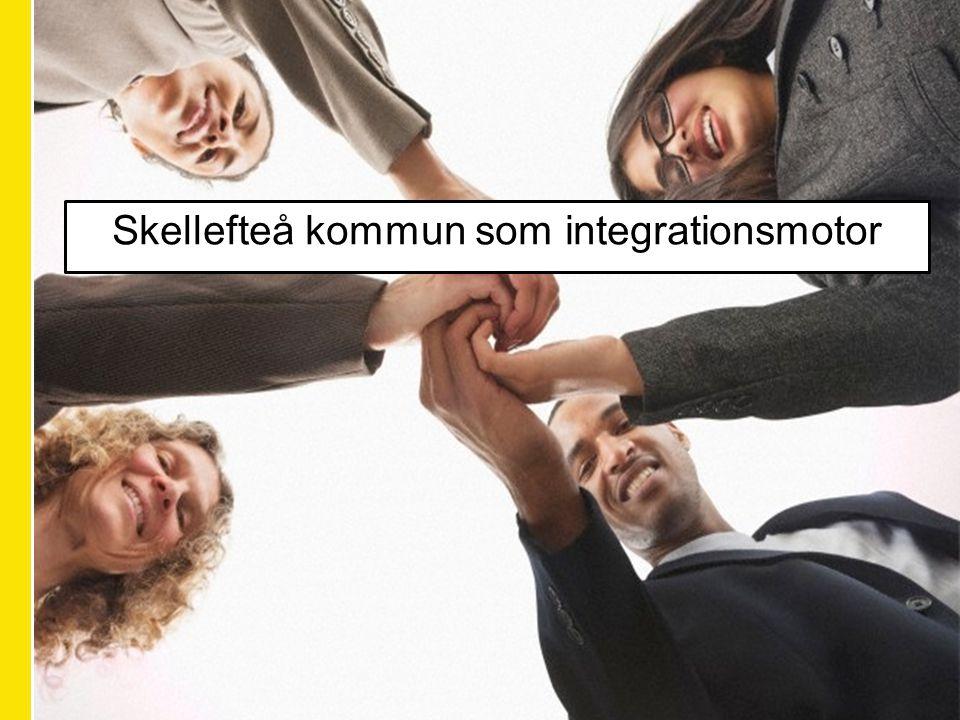 Skellefteå kommun som integrationsmotor