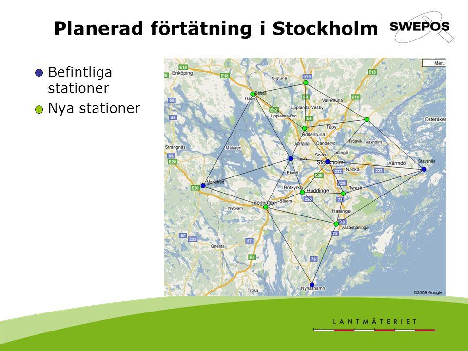 Planerad förtätning i Stockholm