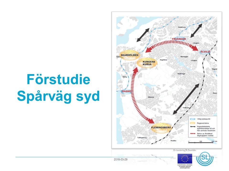Förstudie Spårväg syd 2017-04-08