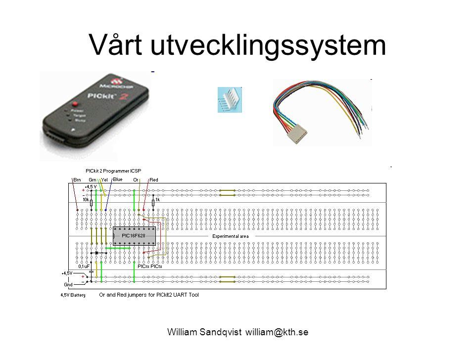 Vårt utvecklingssystem