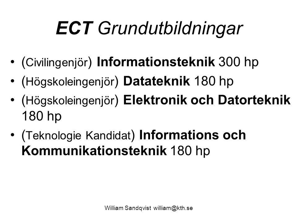 ECT Grundutbildningar
