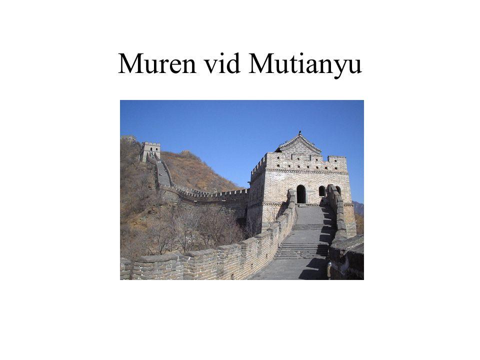 Muren vid Mutianyu