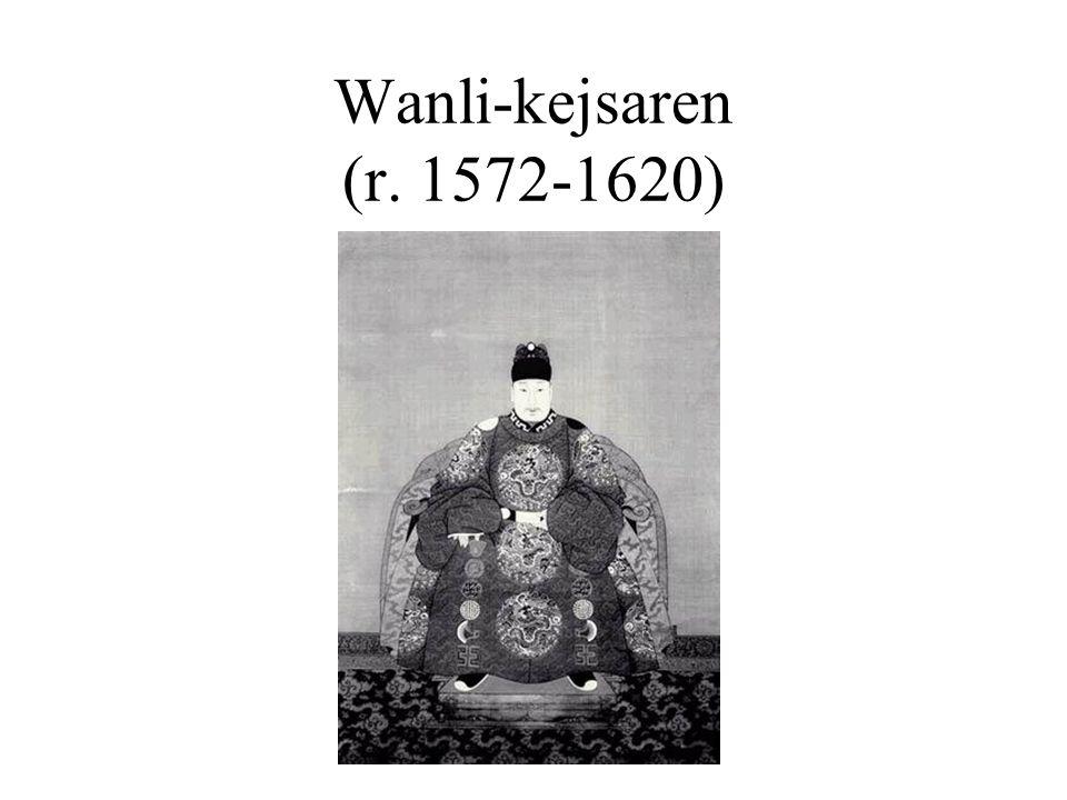 Wanli-kejsaren (r. 1572-1620)