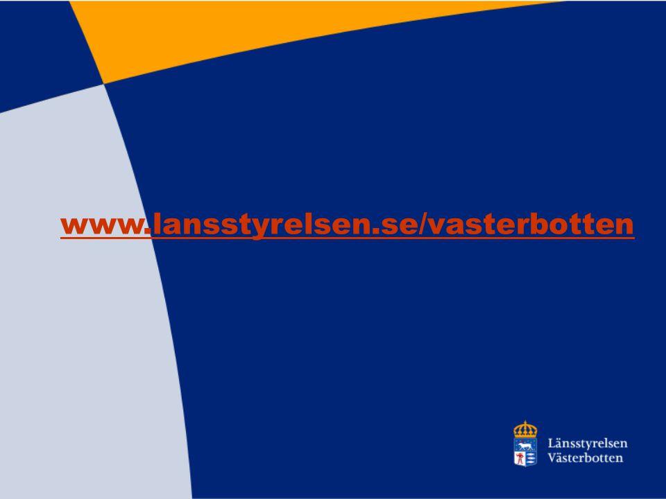 www.lansstyrelsen.se/vasterbotten