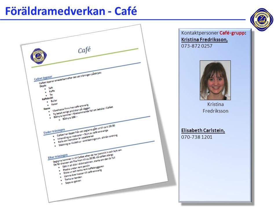 Föräldramedverkan - Café