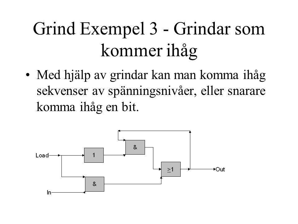 Grind Exempel 3 - Grindar som kommer ihåg