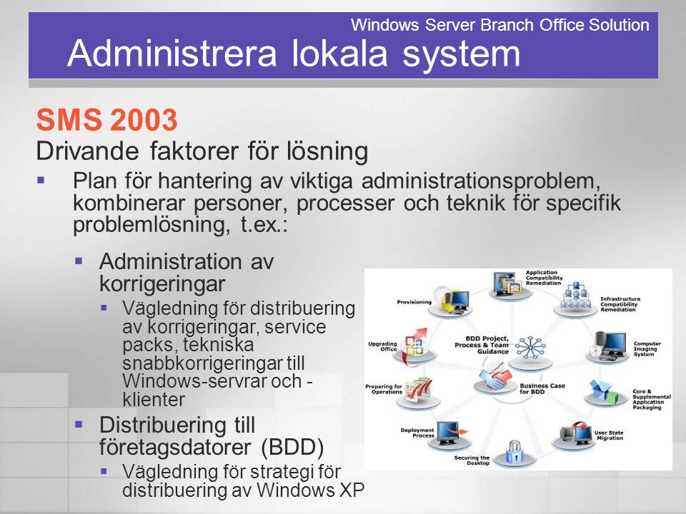 Administrera lokala system