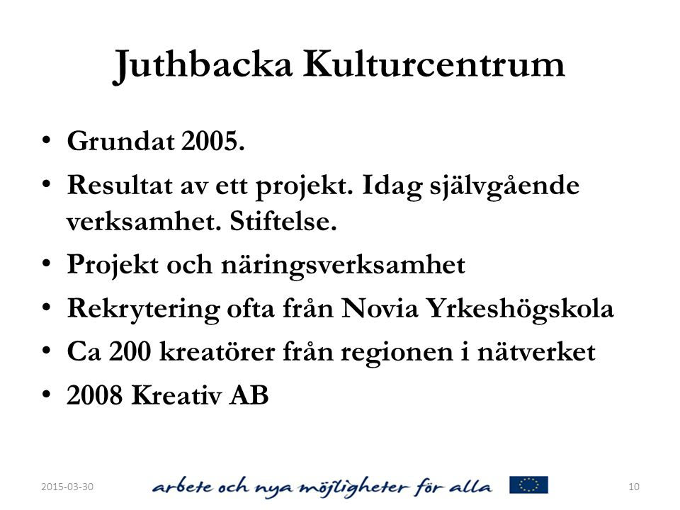 Juthbacka Kulturcentrum