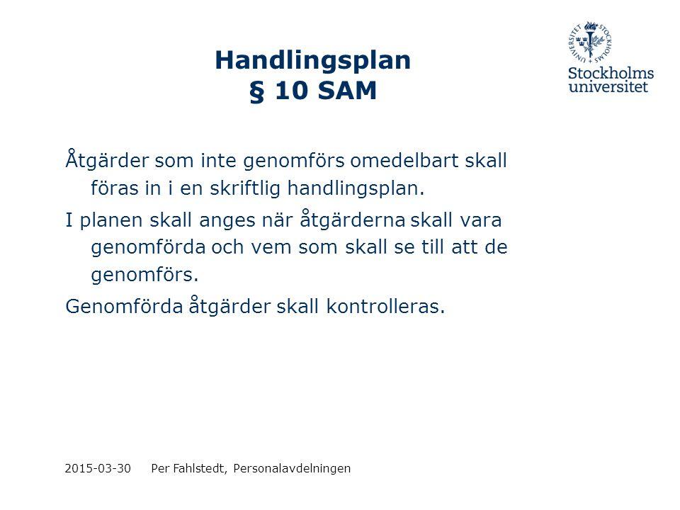 Handlingsplan § 10 SAM