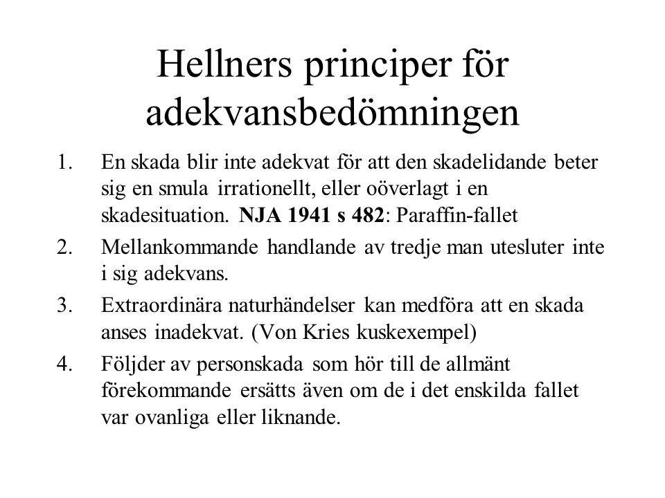 Hellners principer för adekvansbedömningen