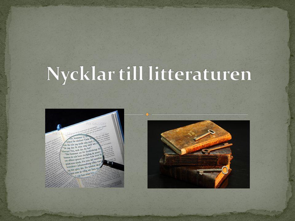 Nycklar till litteraturen