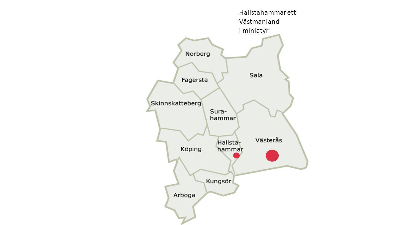 Hallstahammar ett Västmanland