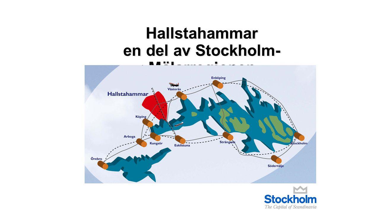 Hallstahammar en del av Stockholm-Mälarregionen