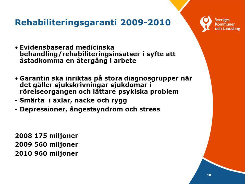 Rehabiliteringsgaranti 2009-2010