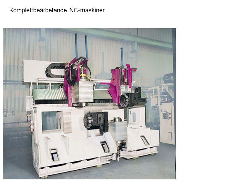 Komplettbearbetande NC-maskiner