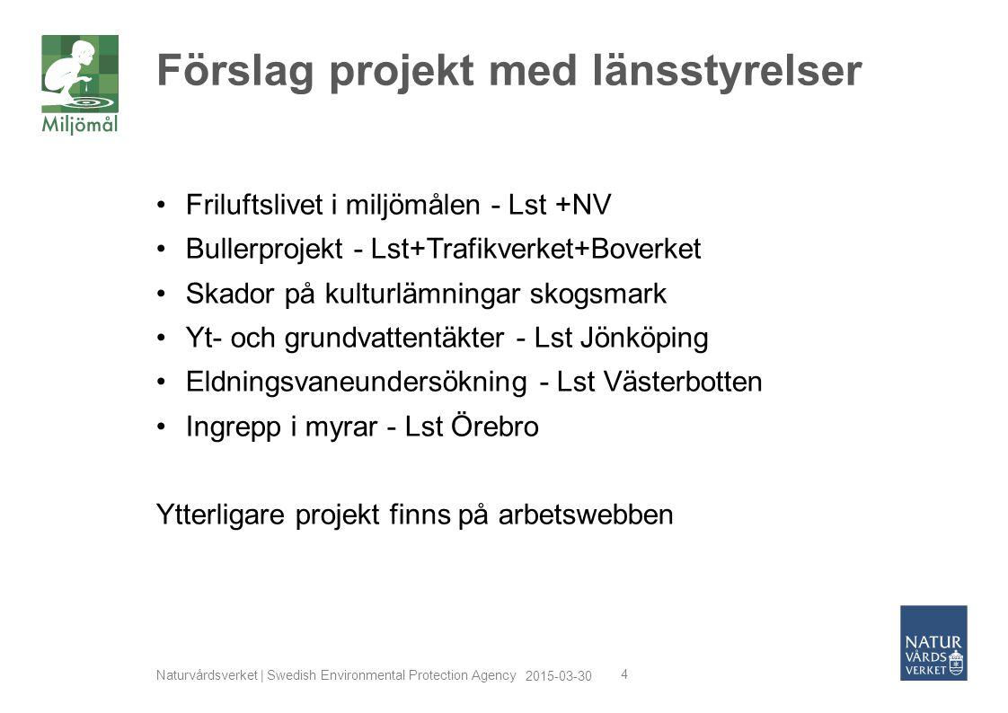 Förslag projekt med länsstyrelser