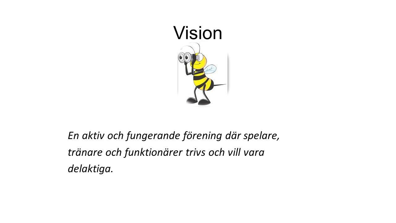 Vision En aktiv och fungerande förening där spelare,