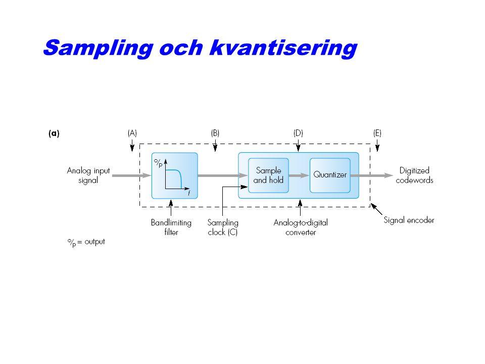 Sampling och kvantisering