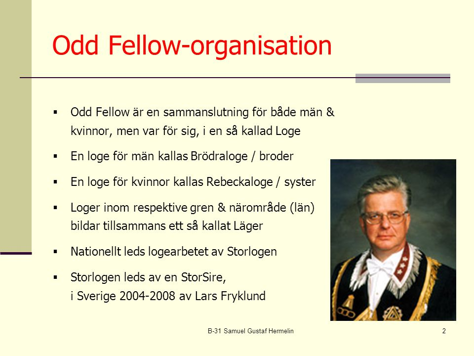 Odd Fellow-organisation