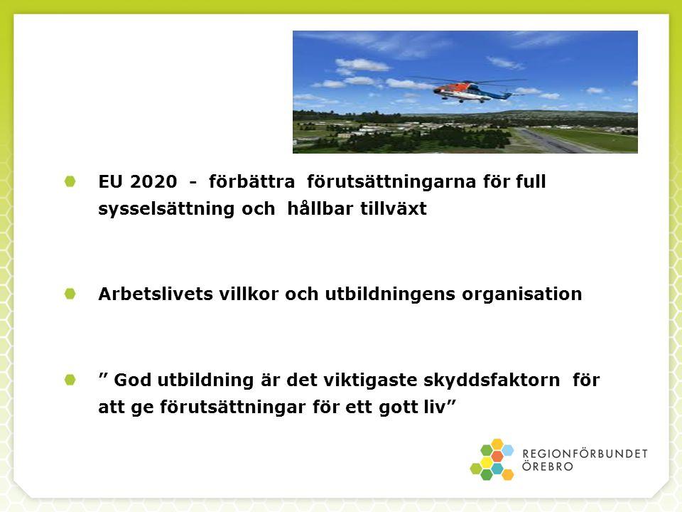 EU 2020 - förbättra förutsättningarna för full sysselsättning och hållbar tillväxt